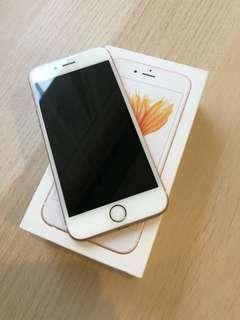 IPhone 6S Rose Gold 64gb Mulus 98% (belom unlock)