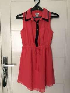 Bright Pink Mini Dress