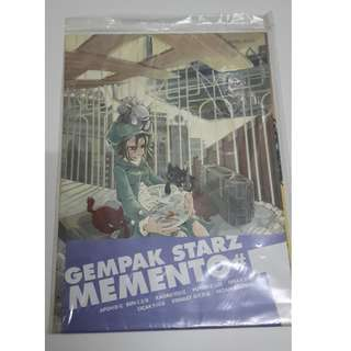 Gempak Starz Memento #1: Illustrations from 8 Gempak Starz artists