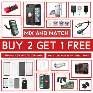 🚚 ⚡BUY 2 GET 1 FREE⚡JUNE SALE - MOBILE ACCESSORIES #caroupay