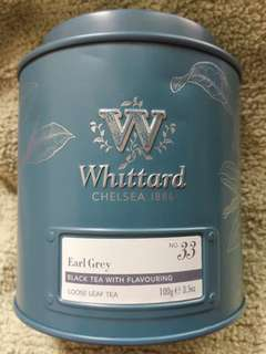 Whittard Earl Grey Tea 100g No.33