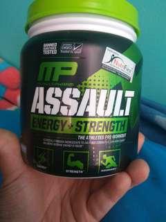 Musclepharm assault pre workout