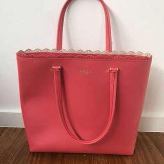 Kate spade collection tote bag Coral colour !