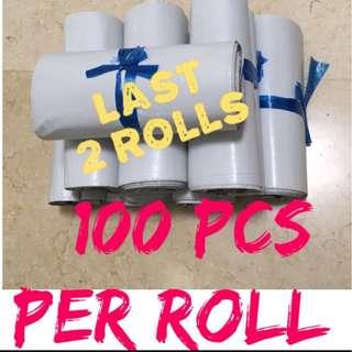 $6 - 100pcs WHITE Polymailer Bag
