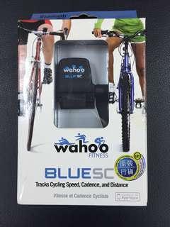 原裝Wahoo Blue SC Speed and Cadence Sensor 自行車運動記錄器