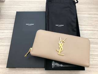 Saint Laurent long wallet