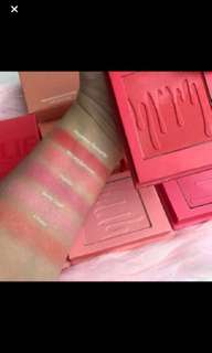 Kylie cosmetics powder blush hot and bothered