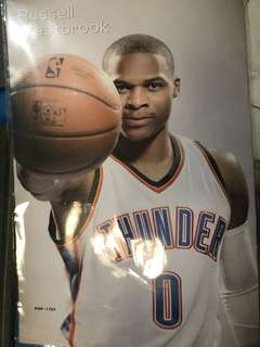 Rusell westbrook poster 8pcs for 50