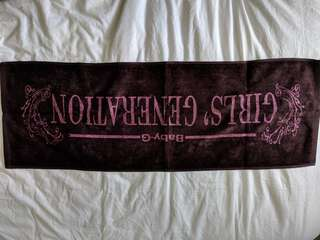 Girls Generation Baby-G towel