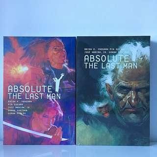 Absolute Y: The Last Man Vol. 2 & 3
