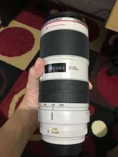 Canon 70-200 F2.8 Mark ii IS USM
