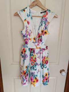 Paradisco floral dress size 8