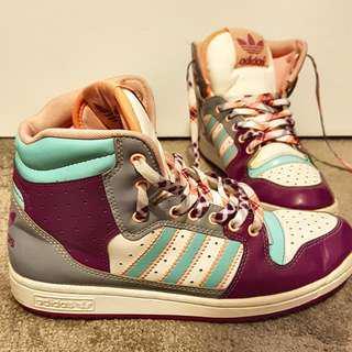 High Cut Adidas Shoes