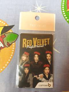 Red Velvet Cash Bee Card