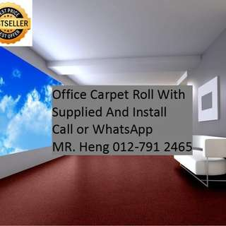 Ampang Office Carpet Roll Call Mr. Heng 012-7912465