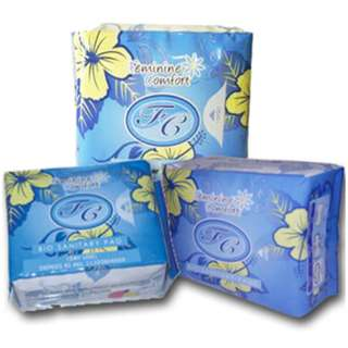 FC Bio Sanitary Pads (Blue - Day) [ Stocks Available ]