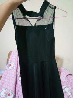 MINI DRESS HITAM (PRELOVED)