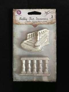 Shabby Chic Treasures Staircase