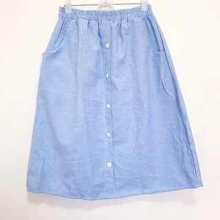 long pocket skirt