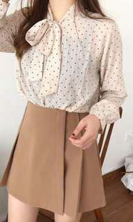 Tan Basic Skirt