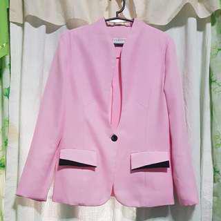 Office blazer pink