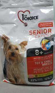 2 Packs of Dog Food for Seniors