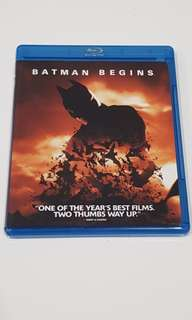 (Blu-ray) Batman Begins