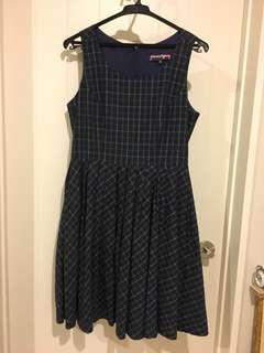 Princess highway navy dress size 10