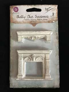 Shabby Chic Treasures Fireplace