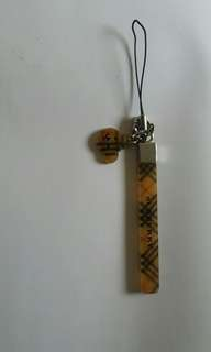 Burberry 手機繩