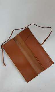 全新日本製真牛皮筆袋 Business Leather Factory pencil case