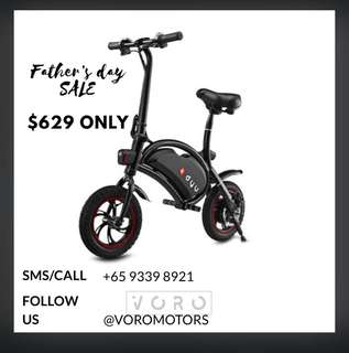 GSS SALE: DYU DELUXE 10.4AH Electric Scooter