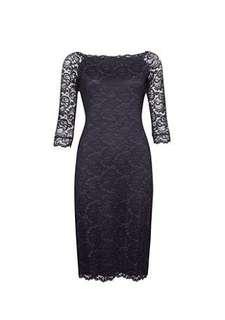 Max midi grey-purple lace dress size 10