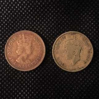1950 & 1965 香港一毫