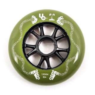 Undercover mushroom blading wheels 100mm inline skate (8 wheels)