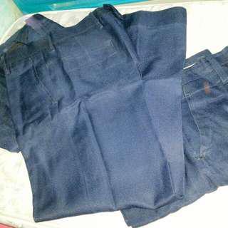 Security Guard's Navy Blue Slacks