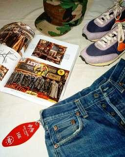 🇺🇸美國製Vintage LEVI'S LVC 201xx Denim Shorts