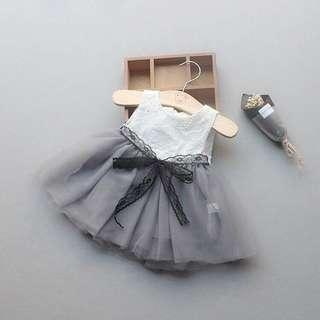 🚚 無袖紗裙洋裝🌈三色(66-100)