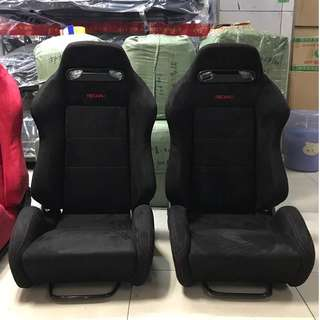 RECARO Black Semi Bucket Seats