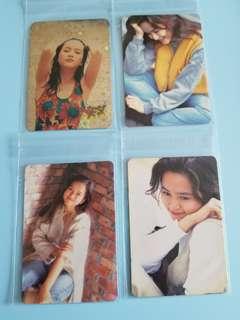 17張 yes卡 第一代 葉蘊儀 閃卡 白卡 yes card