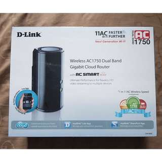 D-Link Wireless Router - AC1750 Dual Band Cloud Router
