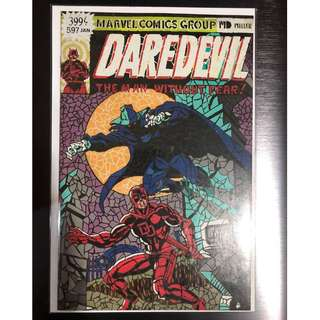 DAREDEVIL #597 SHATTERED COMICS VARIANT#158 HOMAGE COVER SWIPE FRANK MILLER NM