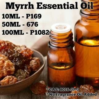 Myrrh Essential Oil (Pure Organic Essential)