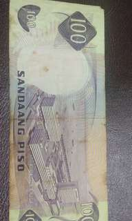100 Notes Sandaang Piso Philippines