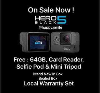 GoPro Hero 5 Black ( Original )