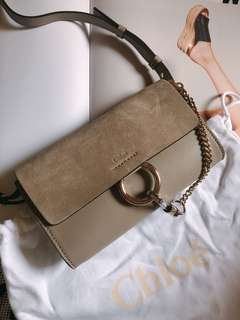 chloe chole faye wallet on strap woc bag謝師宴 斜咩袋