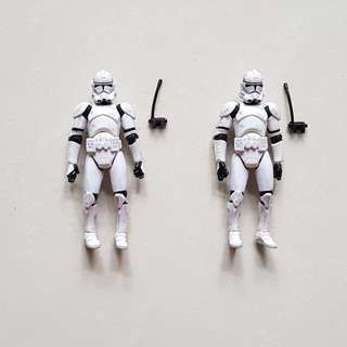 🚚 Star Wars Figurines: Clone Troopers
