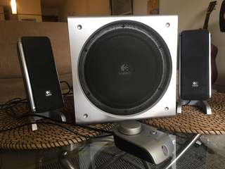 Logitech Z3 2.1 speakers for gaming, computer or general music