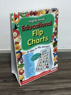 Mighty Minds Educational A4 Flip Chart