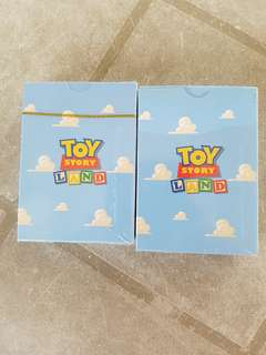 100% Authentic & Collectible Disney's Toy Story Land Playing Cards (54 Cards)